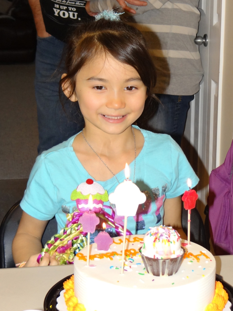 Anna's 7th Cupcake Birthday