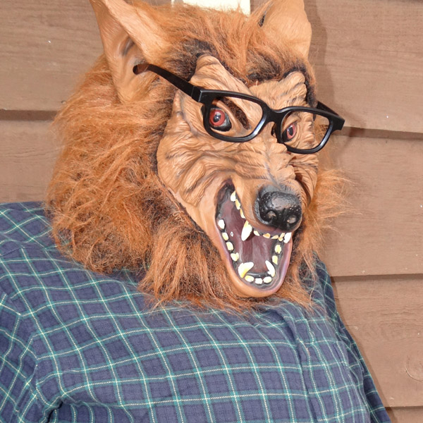 Funny DIY Werewolf with ABS Pipe.JPG