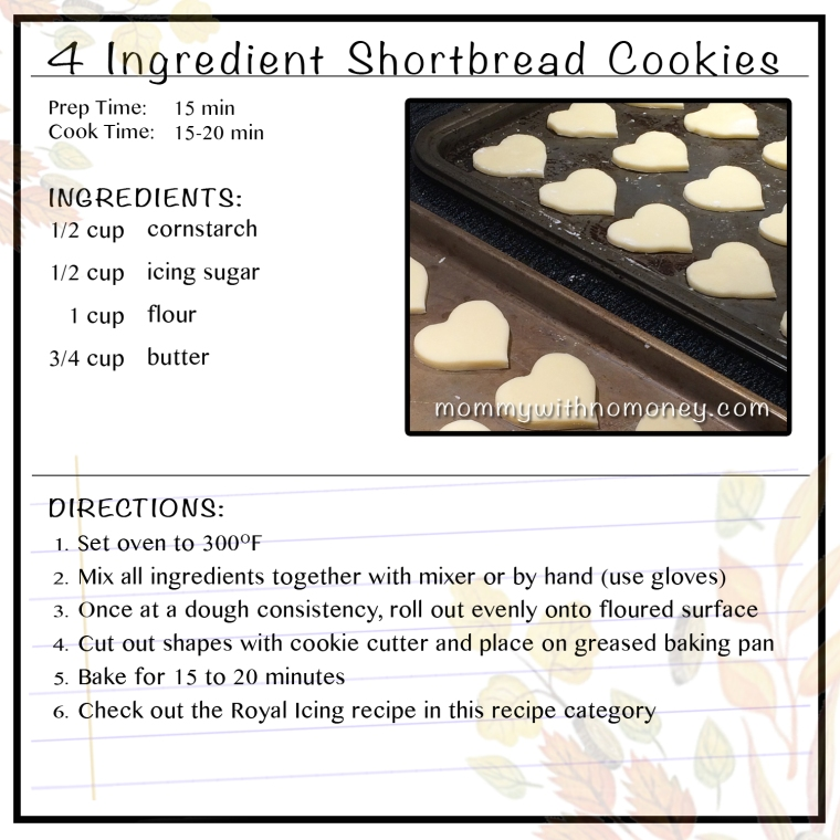 4-ingredient-shortbread-cookies