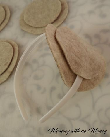 Tea Party Headbands on Mommywithnomoney blog