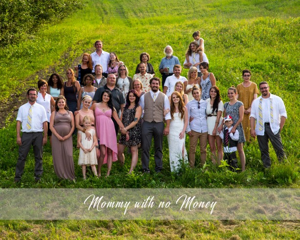 Perlinski Large Group Family Photo-Save Money and invite those who mean something.jpg